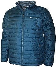 Columbia Men's White Out II Omni Heat Insulated Puffer Jacket (Petrol Blue,
