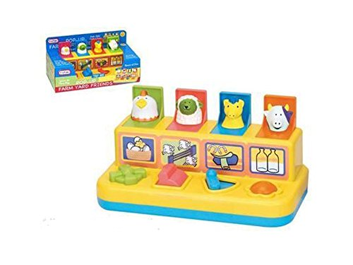 FUNTIME - JUGUETE PARA APILAR Y ENCAJAR FARMYARD FRIENDS (A TO Z 28503050025)