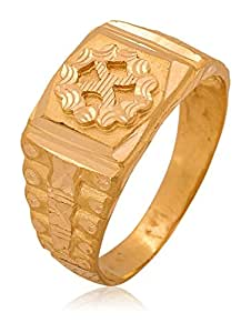 Buy Senco Gold Aura Collection 22k Yellow Gold Ring Online At Low