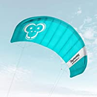 Skymonkey Windtrainer Trainer-Kite/Lenkmatte 4-Leiner (inkl. Trainerbar) Ready 2 Fly- Verschiedene Größen (230 cm oder 330 cm Spannweite)