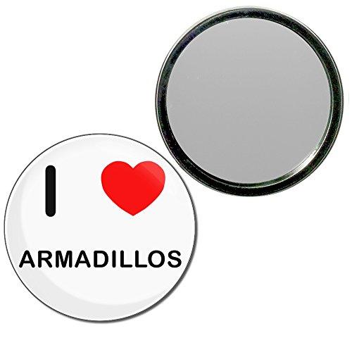 i-love-armadillos-55mm-round-compact-mirror