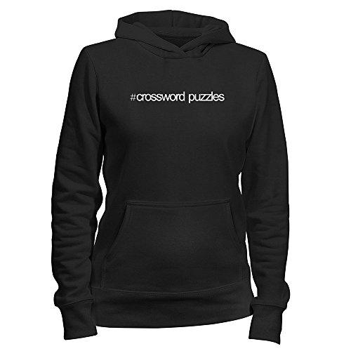 Idakoos Hashtag Crossword Puzzles - Ocio - Sudadera con capucha para mujer