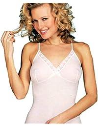 5380b56d43 GICIPI Top misto lana donna con forma seno art. 423