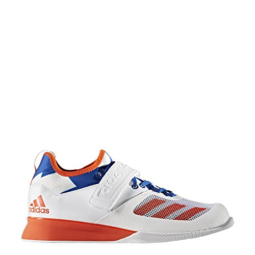 adidas Crazy Power Weightlifting Scarpe - SS18 White/Red/Blue