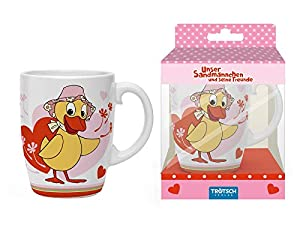 """Porzellan-Tasse """"Schnatterinchen"""": in Geschenkbox"""