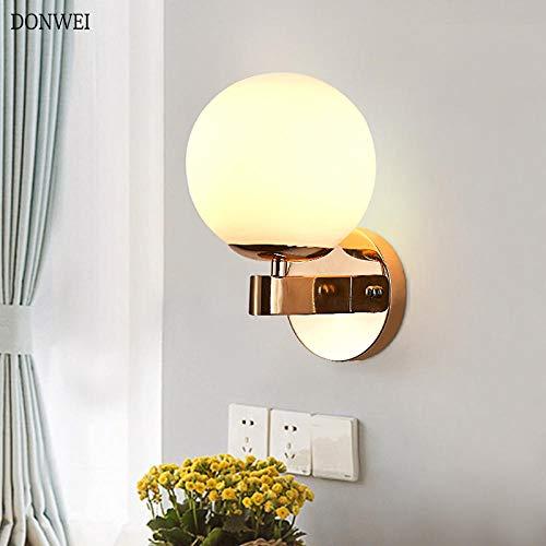 Recién llegado E27 LED lámparas de pared Bolas de acrílico nórdico luces de pared para pasillo pasillo...
