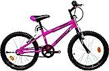New Star BTT 20' Zante Bicicleta infantil, Rosa, Talla Única