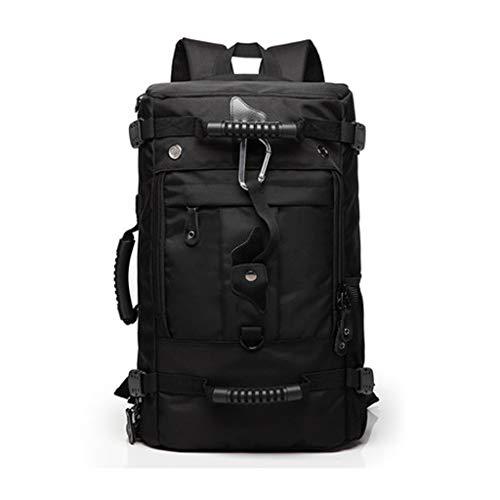 Dongyd Männer große Kapazität Rucksack Reise Computer Feld Pack mit USB Lade Mund Rucksack Bergsteigen Tasche College Packet (größe : M)