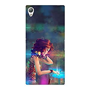 Enticing DJ Girl Play Back Case Cover for Sony Xperia Z3