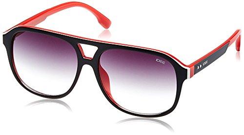 IDEE Gradient Square Men's Sunglasses - (IDS2078C1SG|56 Green Gradient lens) image