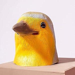 PartyCostume - Robin Vogel Maske - Halloween Latex Maske Tierische Vogel