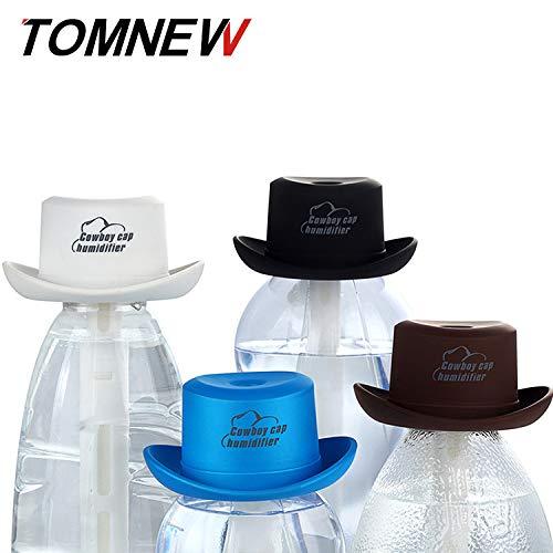 CXQ Luftreiniger Bottle Cap Luftbefeuchter Creative Home Kleine Cowboy-Hut-Aromatherapie-Luft, Weiß (Weiß Bottle Caps)