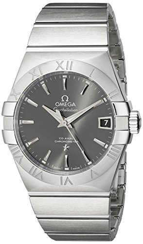 OMEGA WOMEN'S 38MM STEEL BRACELET & CASE AUTOMATIC WATCH 123.10.38.21.06.001