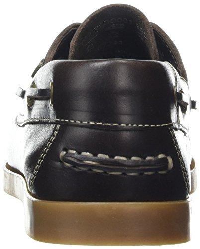 Dockers by Gerli 21dc201-180, Chaussures bateau femme Marron (Cafe 320)