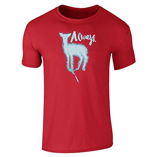 Pop Threads Always. Doe Patronus Movie Short Sleeve T-Shirt by