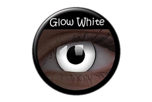 ColourVUE Glow White Monatslinsen weich, 1 Stück / BC 8.6 mm / DIA 14.0 / 0 ()