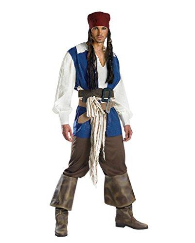 Captain Jack Sparrow Kostüm Extra Large
