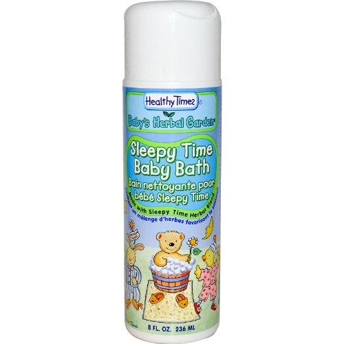 Healthy Times, Baby Kräuter Garden, Schläfrige Zeit Baby-Badewanne, 8 Flüssigunzen (236 ml)