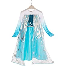 ELSA & ANNA® Princesa Disfraz Traje Parte Las Niñas Vestido (Girls Princess Fancy Dress) ES-DRESS305-SEP
