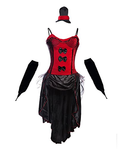 Wild West Kostüm - Beinhaltet Saloon Girl Dress -