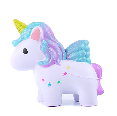 Aolige-Squishies-Slow-Rising-Jumbo-Kawaii-Cute-Colored-Unicorn-Creamy-Scent-for-Kids-Party-Toys-Stress-Reliever-Toy