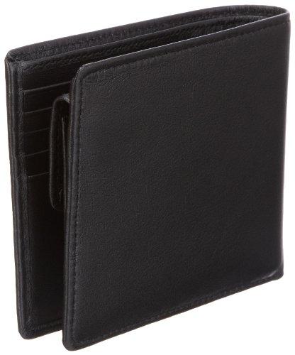 CK Calvin Klein Soft Nappa KM110ECT500, Herren Geldbörsen 12x10x2 cm (B x H x T) Schwarz (Black 999)