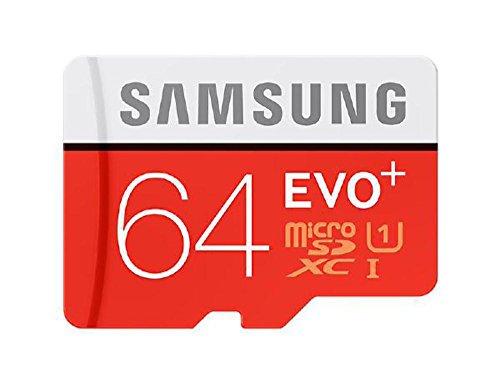 64GB Samsung EVO Plus MicroSDXC CL10 UHS-1 Memory Card (Geschwindigkeit bis zu 80MB/sec)