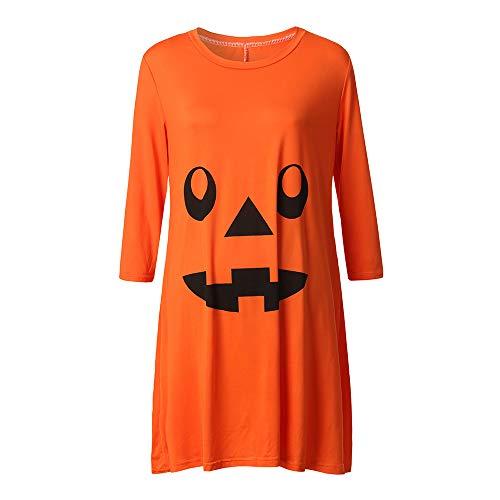 Schwanger Frauen Kleid, Quaan Krankenpflege Nachthemd Schwangerschaft Halloween Teufel Drucken Kleid Kleidung