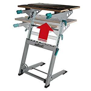 Wolfcraft 6908000 master 700 workbench foldable height for Table wolfcraft