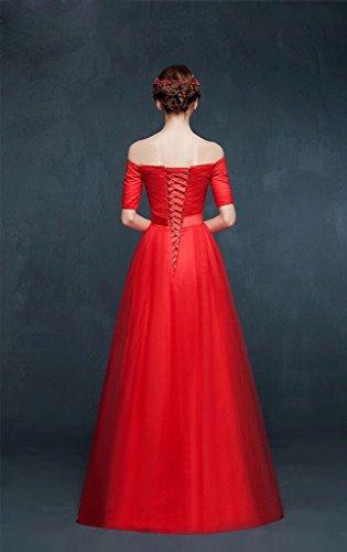 Vimans -  Vestito  - linea ad a - Donna Burgundy