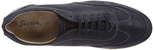 Sioux Deno, Low-Top Sneaker uomo Blu (Blu (Jeans))