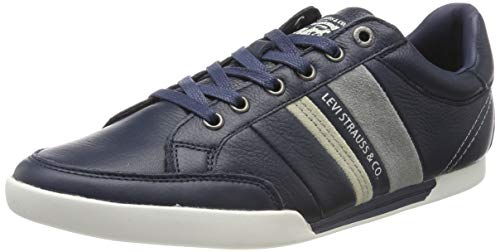 LEVIS FOOTWEAR AND ACCESSORIES Turlock, Sneaker Uomo, Blu (Navy Blue 17), 45 EU
