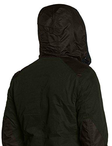 G-STAR RAW Setscale Hdd Overshirt L, Blouse Homme, Noir Noir (Asfalt 995)