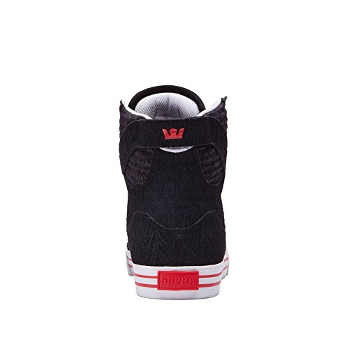 Supra Skytop S18091, Baskets mode homme Black/Light Grey/Red