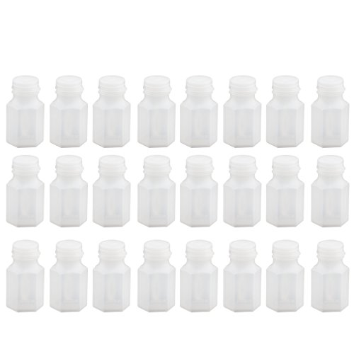 B Blesiya 24pcs Seifenblasen-Flaschen Hochzeiten Spielzeug für Festival (Leere Flasche)