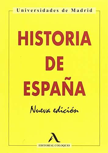 HISTORIA DE ESPAÑA: Nueva Edición
