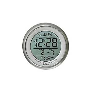Sonnet T-4660 Water Resistant Suction Cup Atomic Clock by Sonnet