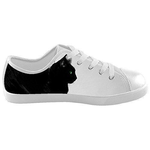 Dalliy art mignon petit chat Kids canvas Footwear Sneakers Shoes Chaussures de toile Baskets C