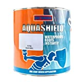 Aquashield Clear Acrylic Instant Waterproof Roof Repair Coating Sealant, One Coat Emergency Leak