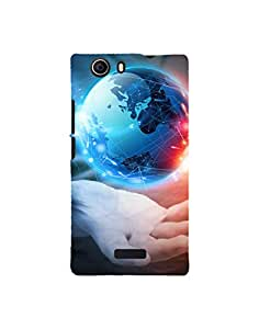 Aart Designer Luxurious Back Covers for Micromax Canvas Nitro 2 E311 by Aart Store.