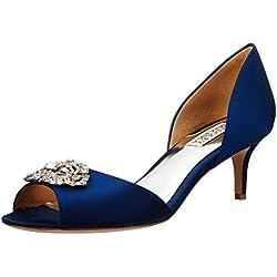 Badgley Mischka Petrina Mujer US 8.5 Azul Tacones