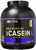 Optimum Nutrition Gold Standard Casein Eiweißpulver (mit Glutamin und Aminosäuren, Protein Shake von ON), Chocolate Supreme Eiweiß, 53 Portionen, 1,82kg