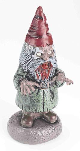 Zombie Gartenzwerg Mann Halloween Deko