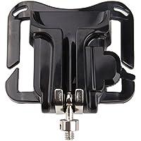 broadroot cámara cintura cinturón percha negro hebilla botón clip de montaje para cámara réflex digital para montaje rápido y quitar