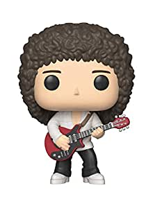 Funko Figurines Pop Vinyl: Rocks: Queen: Brian May Collectible Figure, 33720 Multcolour