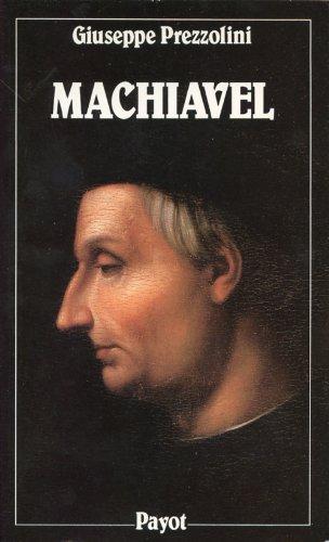 MACHIAVEL. Vie de Nicolas Machiavel le Florentin