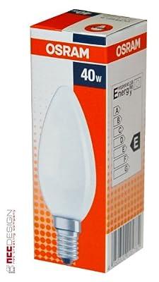 Glühbirne 40 Watt E14/SES Kerzenlampe CLAS B FR 40 von Osr.CLASSIC auf Lampenhans.de