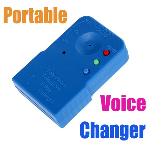 inflagen (TM) Cute Tragbare Wireless Mini 8Multi Voice Changer Mikrofon Disguiser