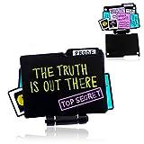 CADANIA Faltbare Brosche Die Wahrheit ist da draußen Aliens existieren Emaille Pins Explorer Schmuck