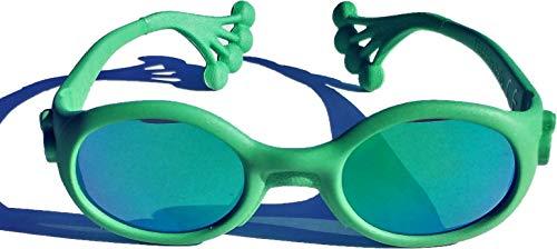 Animals Sunglasses Baby Jungen (0-24 Monate) Sonnenbrille Grün Verde Frog
